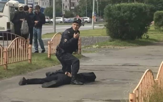 Man stabs eight people in Siberian city